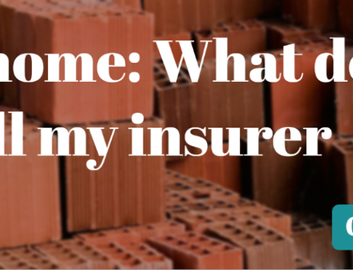 DIY in the home: What do I need to tell my insurer about?