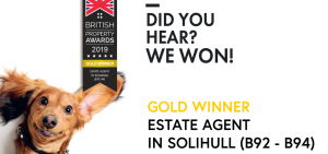 Best estate agent award 2019 B93 B94 B92